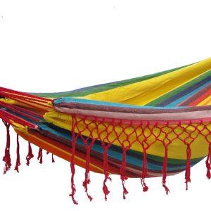 'Grenada' Sunny Eénpersoons Hangmat - Veelkleurig - 123 Hammock