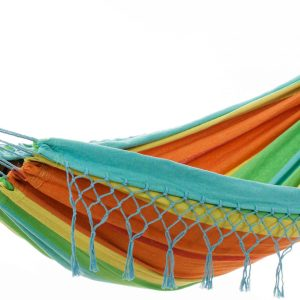 'Grenada' Casablanca Eénpersoons Hangmat - Veelkleurig - 123 Hammock
