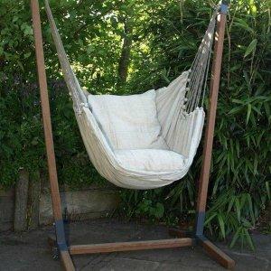 Hangstoel set Nature XL incl. 2 kussens