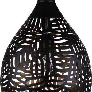 Oosterse Hanglamp Zebra Jawahir Zwart Goud Ø 29 x 43cm Handgemaakt