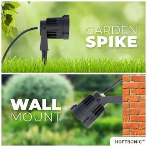 LED Prikspot Lenzo 15 Watt 3000K IP65 waterdicht zwart - Tuin spots, spots bodem buiten