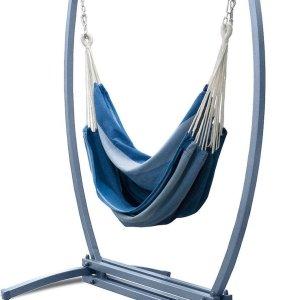Potenza Gazela Mandarin - Stabiele hangstoelstandaard met Extra grote hangstoel uit Colombia� / Hangstoelset (kopie)