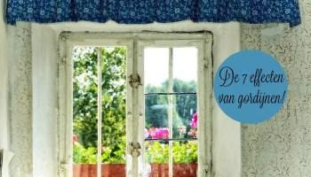 7 effecten van gordijnen op je interieur