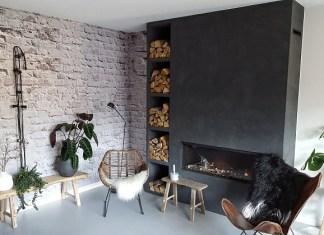 gashaard zwart woonkamer