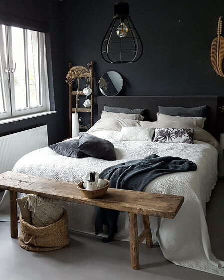 sfeervolle slaapkamer
