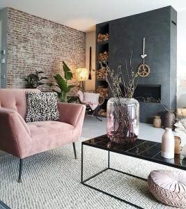 het voorjaar in huis met roze