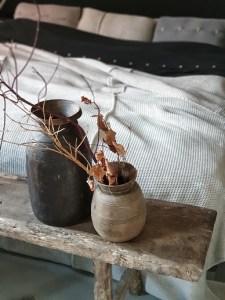 houten potten