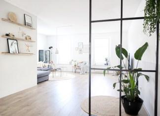 Minimalistisch interieur woning