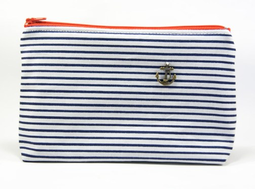 Grande pochette marinière – In the Navy