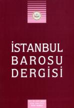 İstanbul Barosu Dergisi