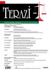 Terazi Hukuk Dergisi