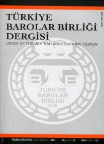 Türkiye Barolar Birliği Dergisi