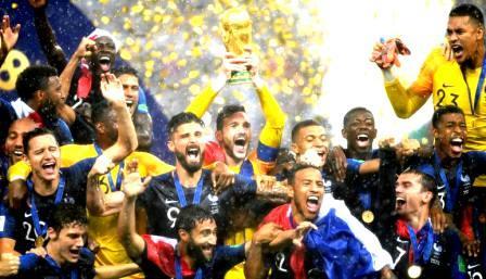 फ्रान्सले जित्यो विश्वकप फुटबलको उपाधि, क्रोएसिया पराजित