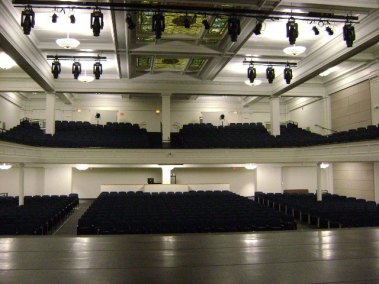 Binghamton City School District High School Helen Foley Theater