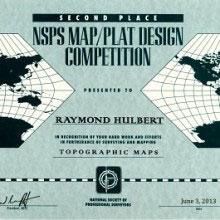 resized NSPS 2nd place Topo award - resized_NSPS-2nd-place-Topo-award