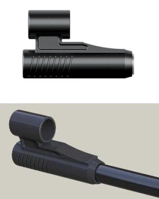 Fiber front sight foresight for air rifles airguns