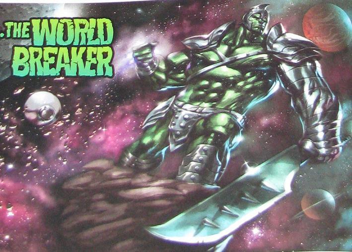 world breaker hulk galactus herald the world breaker wow