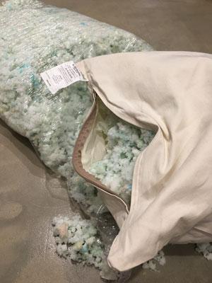 is a shredded memory foam pillow better