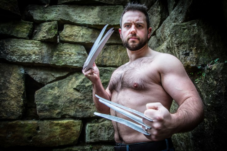 Hullywood Icon number 83 Film: Wolverine Location: The Khyber Pass, East Park. Hull.