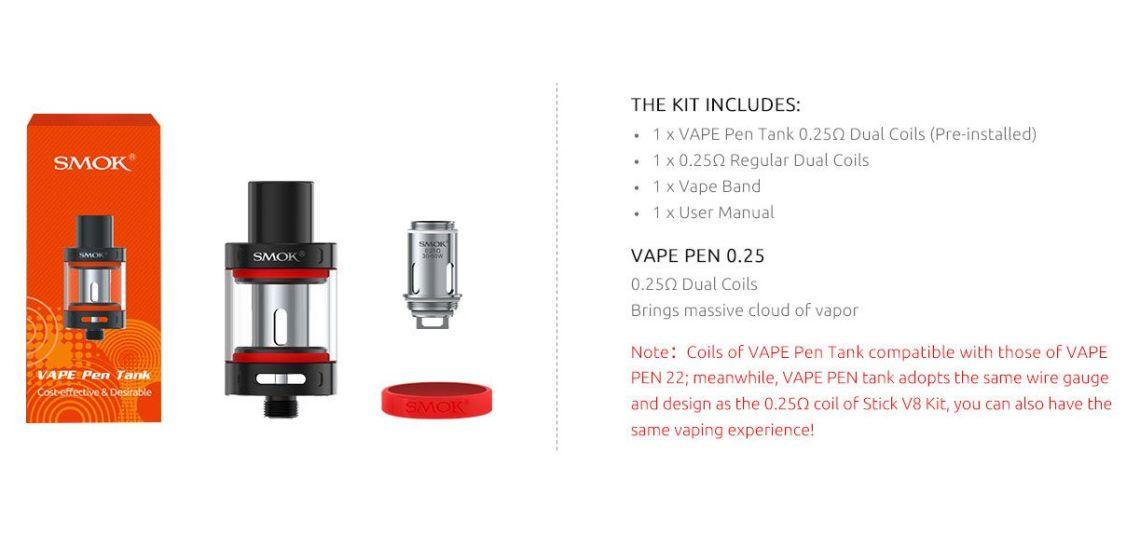 Vape Pen Tank