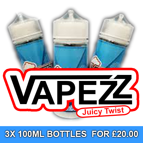 Vapezz 100ml Juice Special Offer