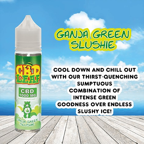 Ganja Green Slushie by CBD LEAF 50ml