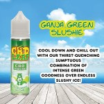 Ganja Green Slushie by CBD LEAF 50ml