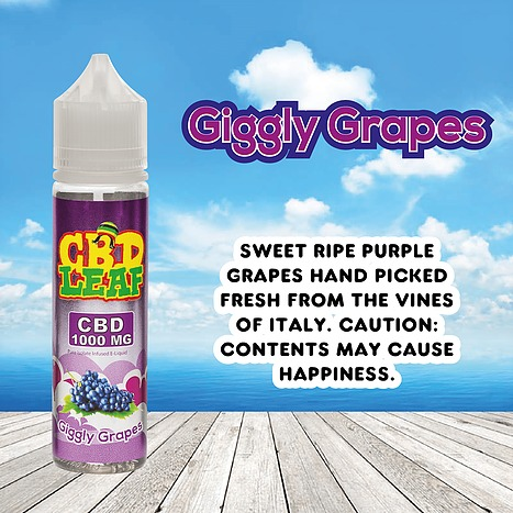 Giggly Grapes by CBD LEAF 50ml