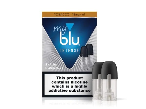 myblu™ Intense Liquidpod Tobacco Flavour