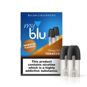 myblu™ Liquidpod Tobacco Flavour