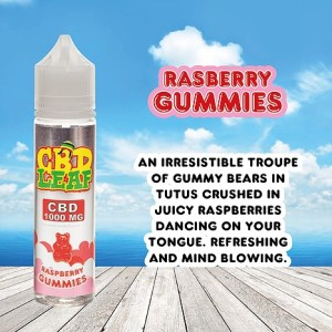 Rasberry Gummies by CBD LEAF 50ml