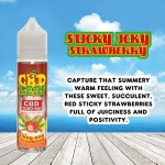 Sticky Icky Strawberry by CBD LEAF 50ml