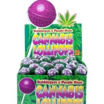 Cannabis Lollipops - Bubblegum x Purple Haze