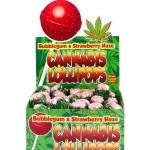 Cannabis Lollipops - Bubblegum x Strawberry Haze