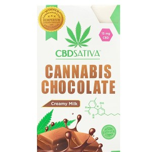 Milk Chocolate by CBD Sativa