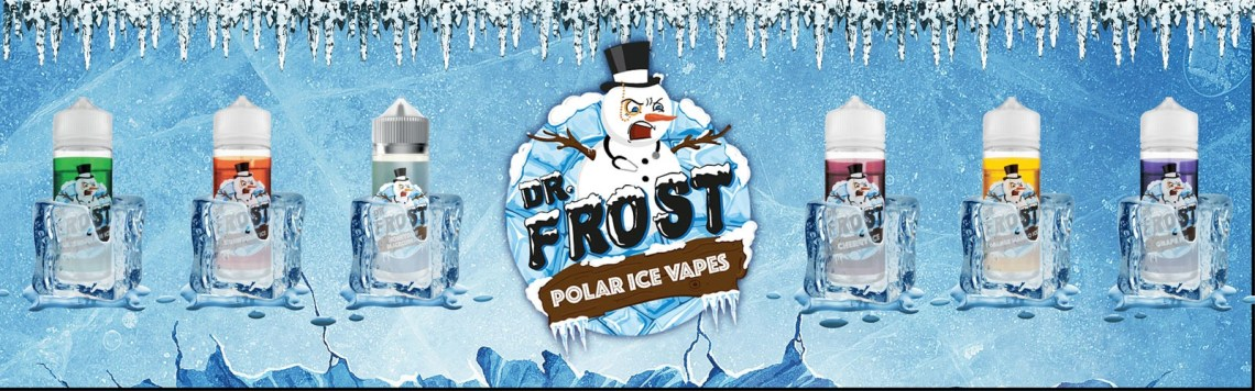 Dr Frost eLiquid Banner