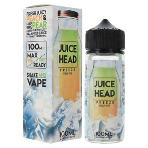 Juice Head 100ml Shortfill Peach Pear Ice