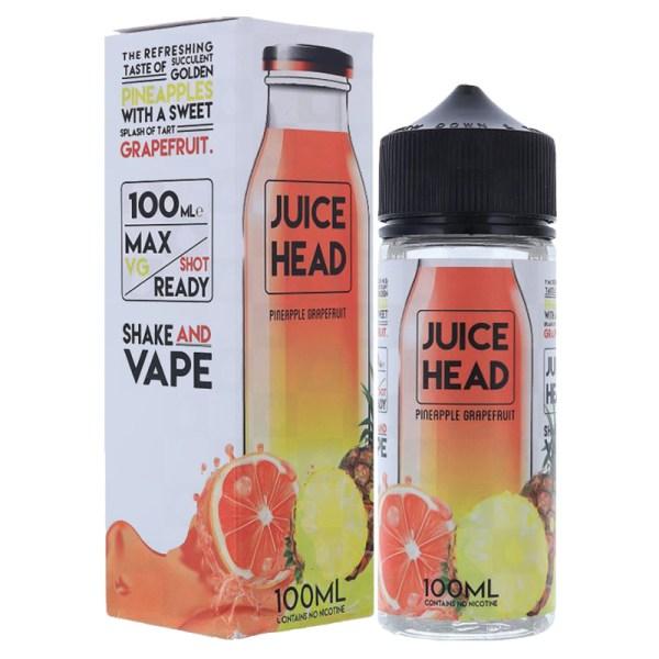 Juice Head 100ml Shortfill Pineapple Grapefruit