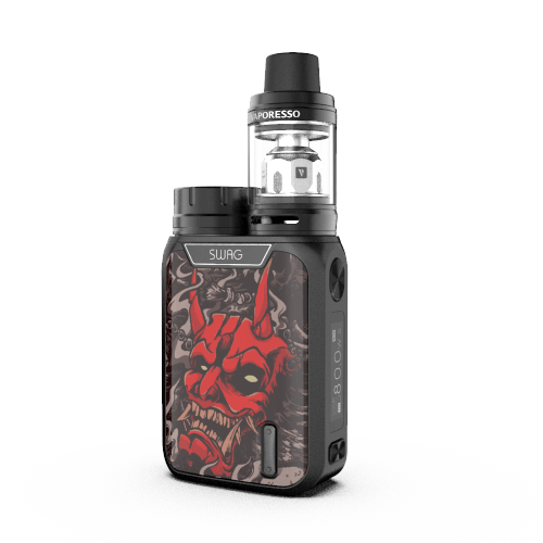 Black Red Devil Swag 80w Kit by Vaporesso