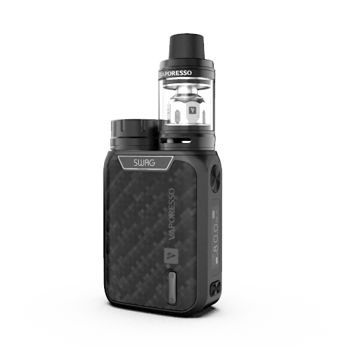 Matt Black Swag 80w Kit by Vaporesso
