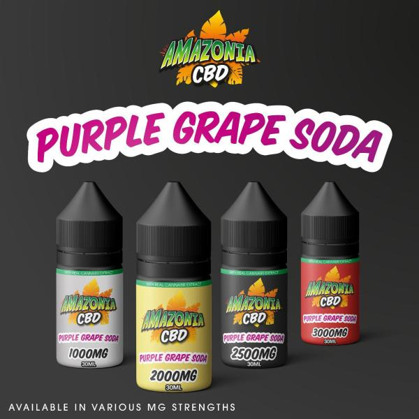 Purple Grape Soda by Amazonia CBD 30ml