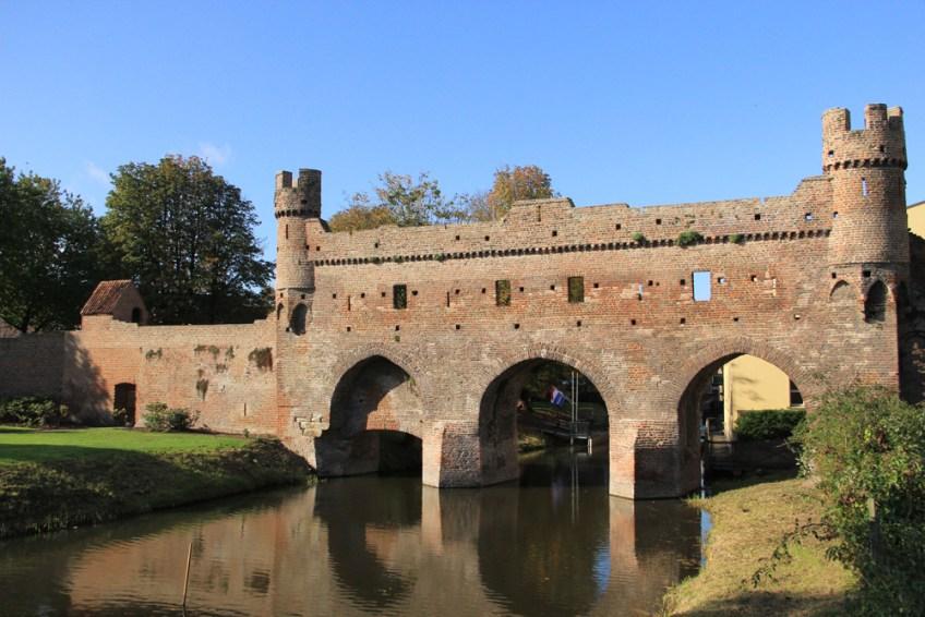 Een van de prachtige gebouwen in de oude hanzestad Zutphen