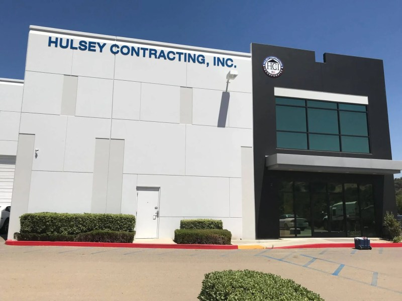Hulsey Contracting Inc Corona CA, Office