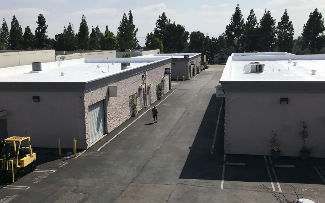 Recent Spray Foam Roof Project In Upland, CA
