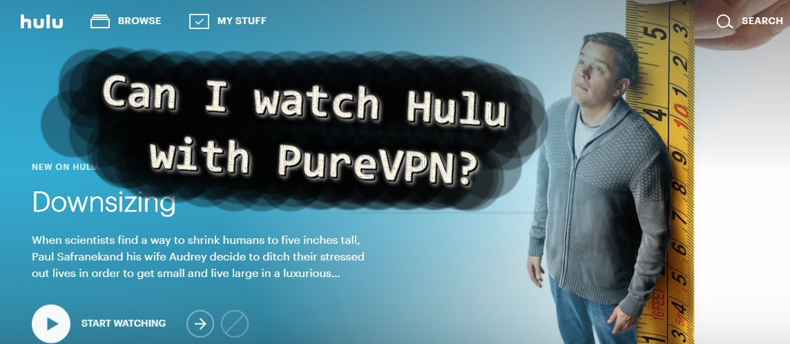 hulu with purevpn