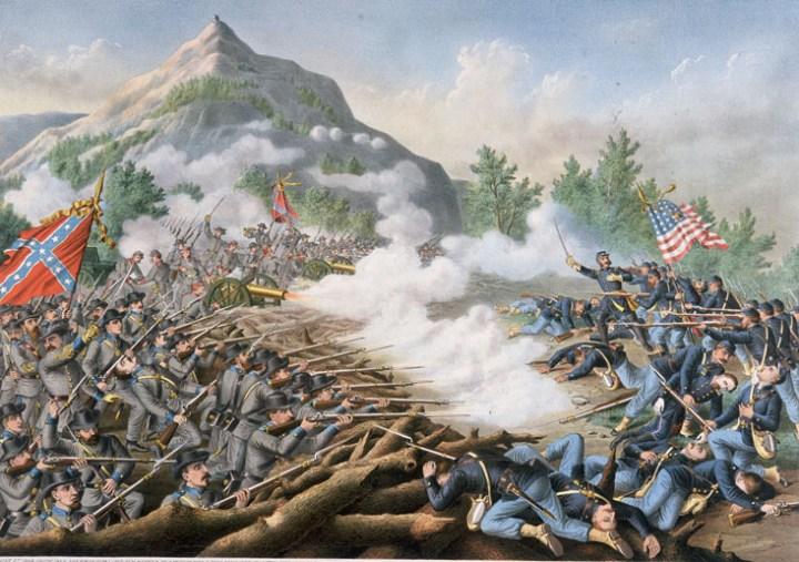 Гражданская война в Америке