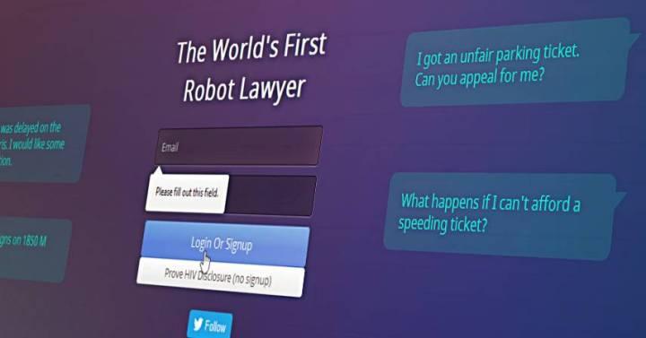 Робот-юрист для людей с низким доходом