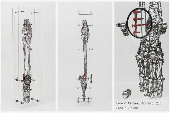 Скульптура из проволоки архитектора Федерико Карбаджала