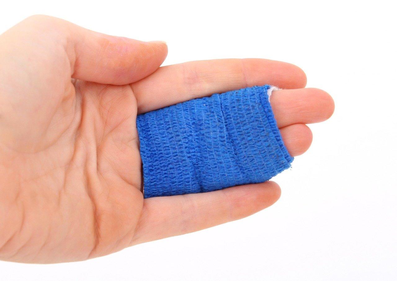 Finger Verletzung