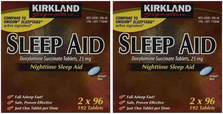 Kirkland Signature Sleep Aid